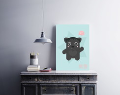 "Placa decorativa ""Bear"""