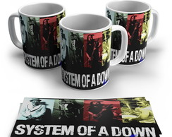 Caneca Rock - System Of a Down