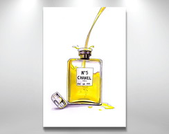 Placa poster Chanel n5