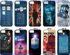 Capinha Doctor Who Moto G5 ou G5 Plus