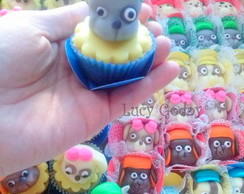 mini cupcake decorado