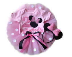 Body e saia de tule minnie