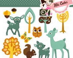 Kit Digital Animais 18