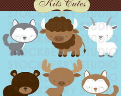 Kit Digital Animais 24