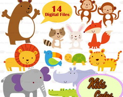 Kit Digital Animais 38