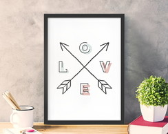 Poster A4 LOVE