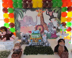 Decoracao infantil Festa Safari