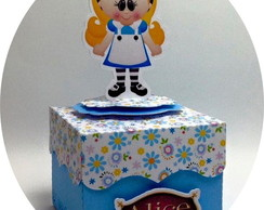 CAIXA BROWNIE 3D ALICE