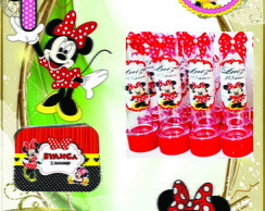 Kit Minnie 90 ítens festa infantil