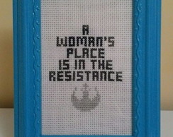 Quadro A woman's place - Star Wars