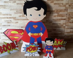 kit Super man Baby - mdf