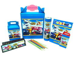 Super Wings enfeite de mesa