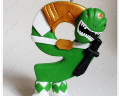 Vela Power Ranger Mighty Morphin Green