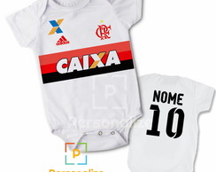 Body Infantil Personalizado Do Flamengo