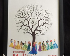 Quadro de Assina KitCo Disney Princesas
