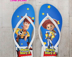 Chinelo Infantil Toy Store Personalizado