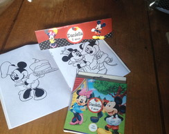 Livro de Colorir Mickey e Minnie