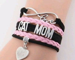 Pulseira Cat Mom