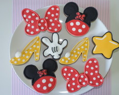 Biscoitos Decorados Minnie