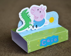 Porta Chocolate Duplo George Pig