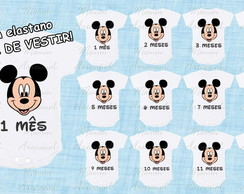 Body mesversario mickey 1