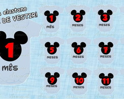 Body mesversario mickey 3