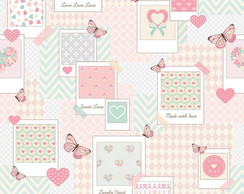 PAPEL DE PAREDE PATCH LOVE REF: 6221
