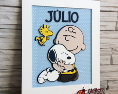 Quadro Snoopy/Charlie Brown