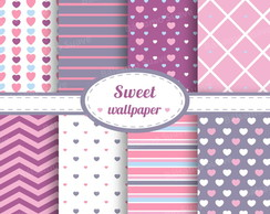 Kit Scrapbook Digital / Sweet Wallpaper