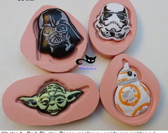 Kit moldes silicone star wars