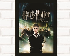 Poster com Moldura Harry Potter 3