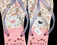 Chinelo personalizados