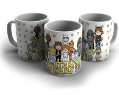 Caneca Star Wars - Personagens