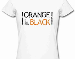 Baby Look Orange is the new Blac 100%Alg