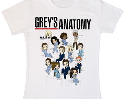 Babylook Camiseta Grey's Anatomy Séries