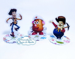 Aplique 3D - Toy Story