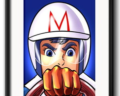 Quadro Speed Racer com Paspatur