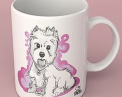 Caneca West terrier