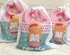 Mochilinha Personalizada Spa Party