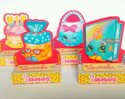 Porta Chocolate duplo Shopkins