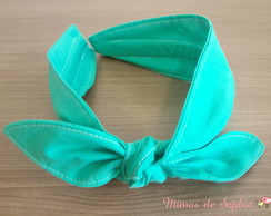 Tiara Turbante Dupla Face - Tiffany