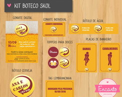 Kit Digital Boteco - Skol