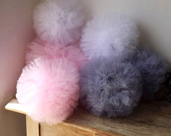 Kit Pompom Tule PARTY Shabby