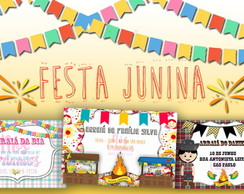 Arte Digital - Festa Junina