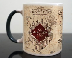 Caneca mágica de porcelana -Harry Potter