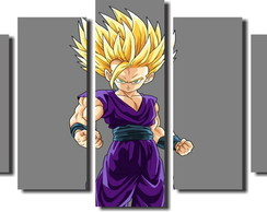 Quadro Decorativo Dragon Boll goku ss2