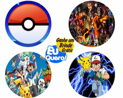 Porta Copos Animes - Pokemon