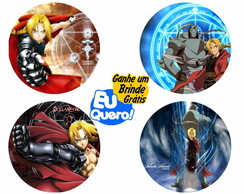 Porta Copos Animes - Full Metal
