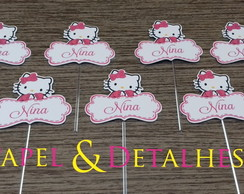 Toppers Nome Hello Kitty