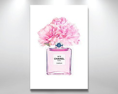 Placa Decorativa chanel n5
